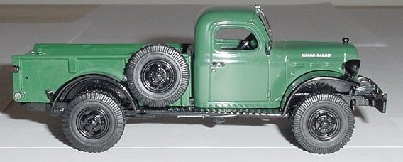 Matchbox Collectibles 1946 Dodge Wagon 1:43