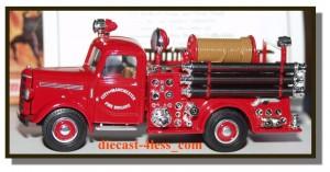 Matchbox City of Manchester fire truck brigade 1:43