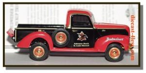 Matchbox 1940 Ford Pick Up Budweiser Truck YVT05-M