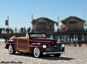Hot Wheels ford woody sportsman surfs up